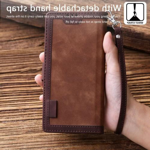 For 20 S20 Ultra S10 S9 Note Leather