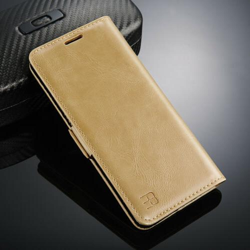 For Samsung 9 S9 Luxury Flip Slot Wallet Leather Case