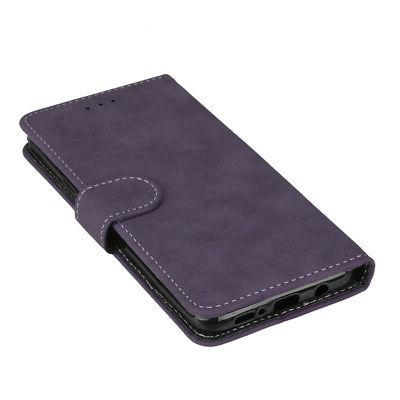For Samsung Phone/S9/S8/S7/Note8 Flip Case Cover Pouch