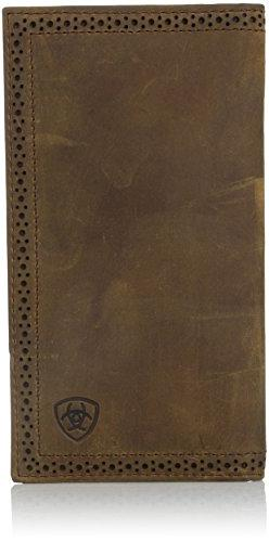 Ariat Ariat Shield Perforated Edge Rodeo Wallet Wallet Mediu