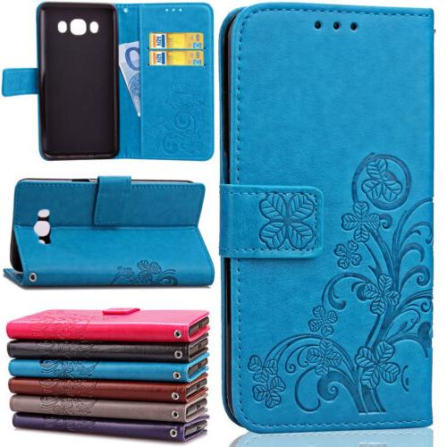 shockproof leather flip card wallet case cover