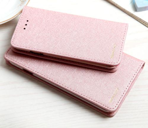 Luxury Leather Flip Case Cover Max 7 6