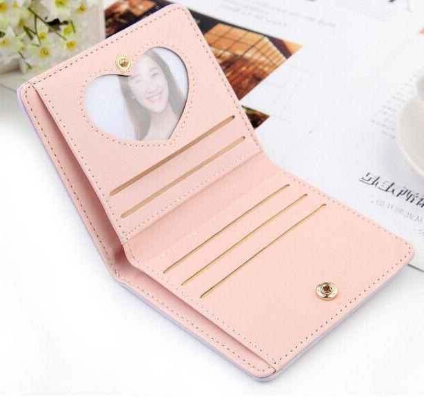 Small Wallets for Bifold Mini Purse Case Holder