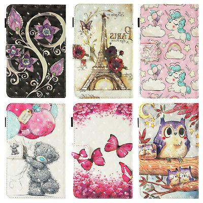 Smart Pattern Leather Case Cover for iPad 5th 9.7""