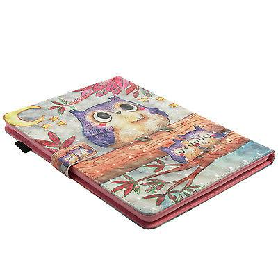 Smart Pattern Leather Case Stand Cover for iPad 5th 6th 9.7""