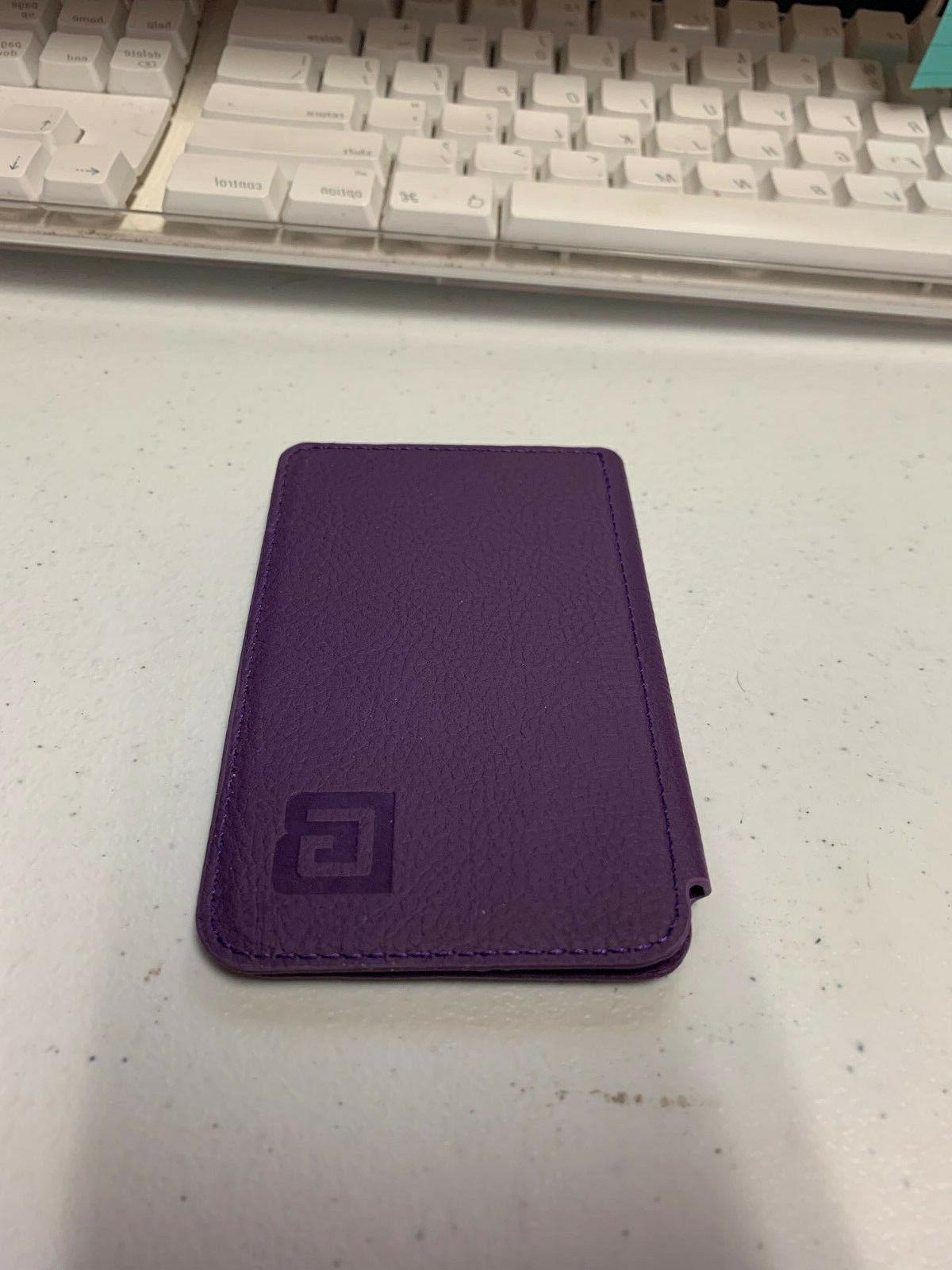 Wallet Purple