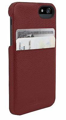 HEX Solo Wallet Leather Hard Case w/ID Card Slot for iPhone