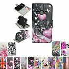 Stand Fold PU Leather Flip Card Slot Wallet Cover Case For S