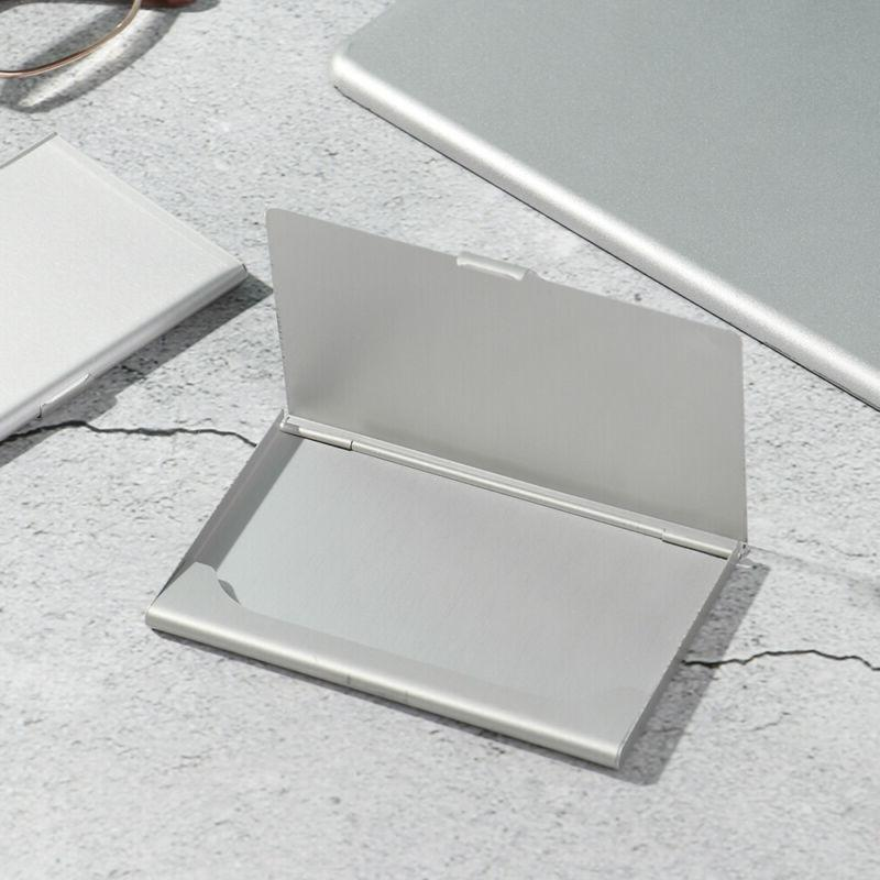 Thin Stainless Card Case Packaging Metal Pocket