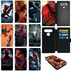 The Avengers Spider Man PU Leather Flip Wallet Phone Case Co
