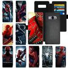 The Avengers Spiderman Flip PU Leather Wallet Cell Phone Cas
