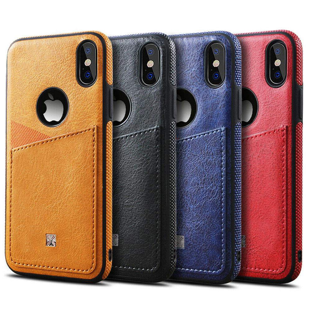 THIN Back Card Case XS MAX XR 8/7