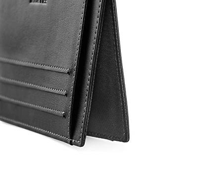 MaxGear Ultra Slim Card Cases for Men Front Pocket Leather