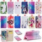 Unicorn Wallet Leather Flip Case Cover For iPhone 5S 6 6S Pl