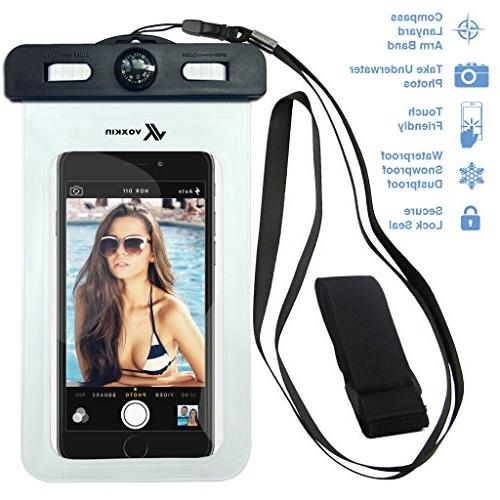 universal waterproof case including armband