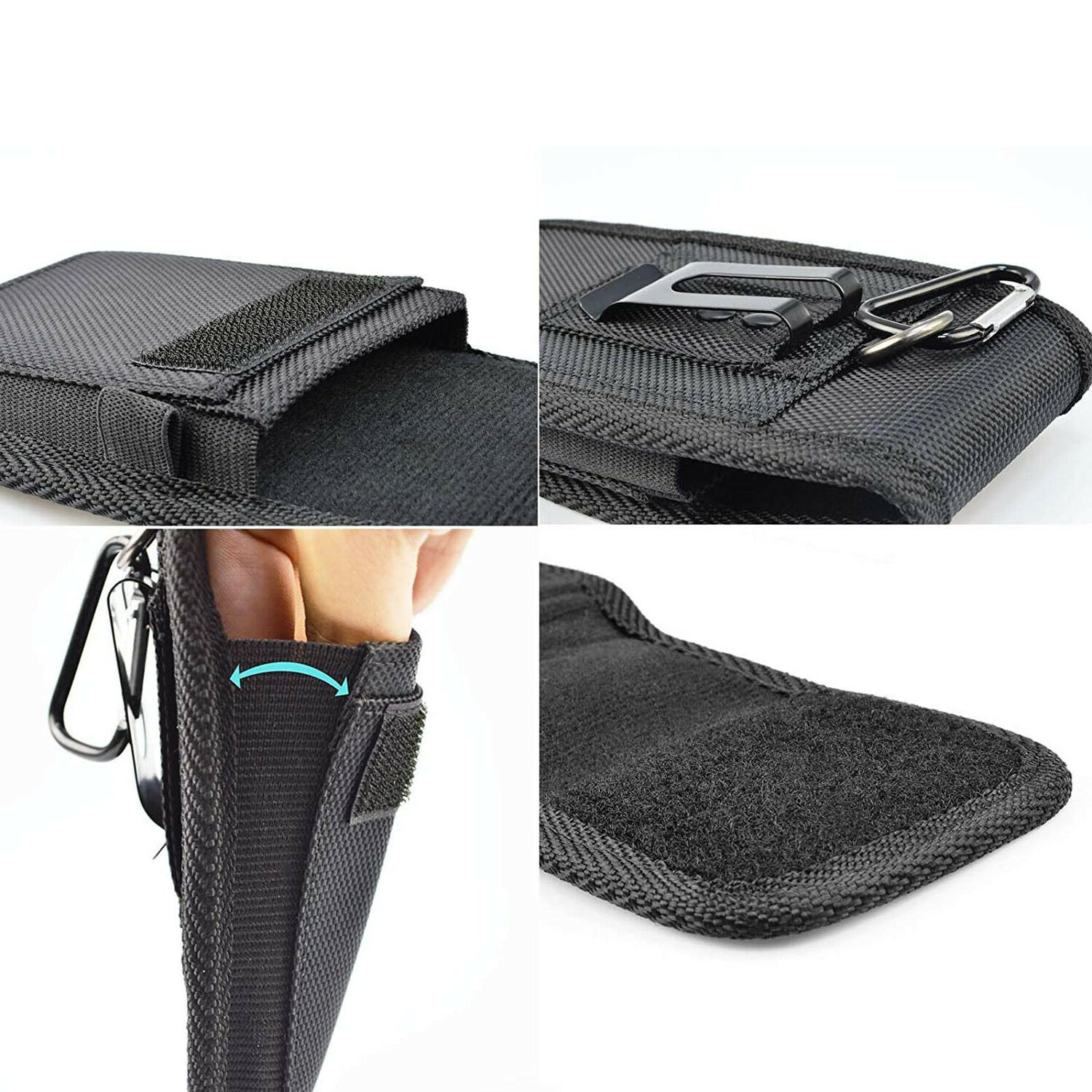 Vertical Pouch with Belt Loop Wallet Samsung