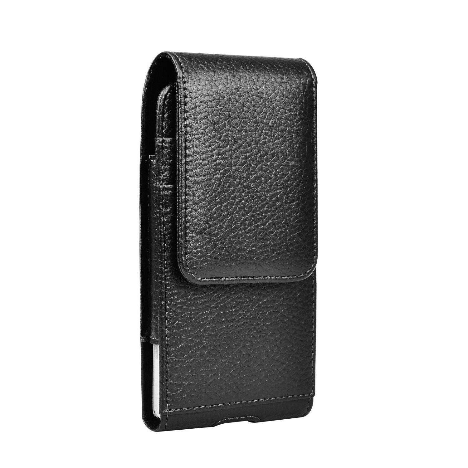 Vertical Holster Leather Case With Belt iPhone