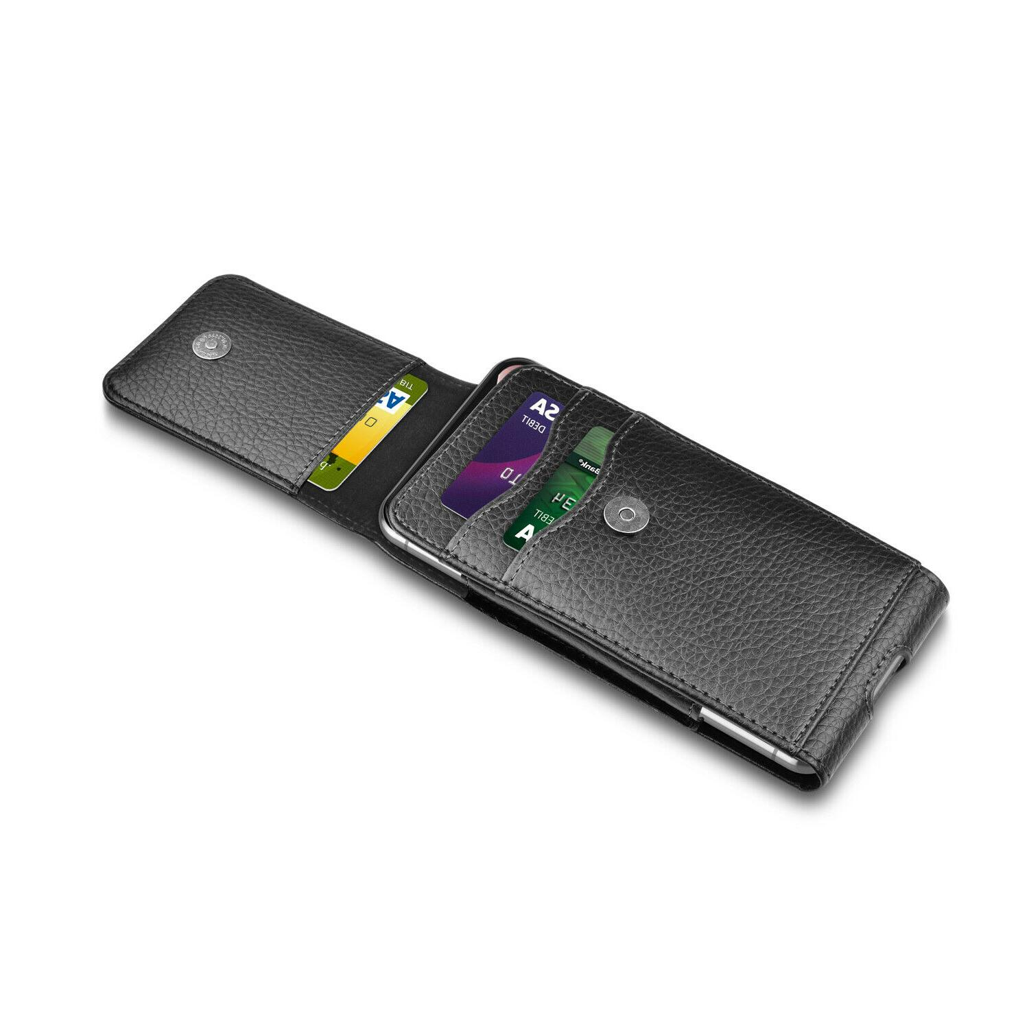 Vertical Cell Phone Holster Wallet iPhone
