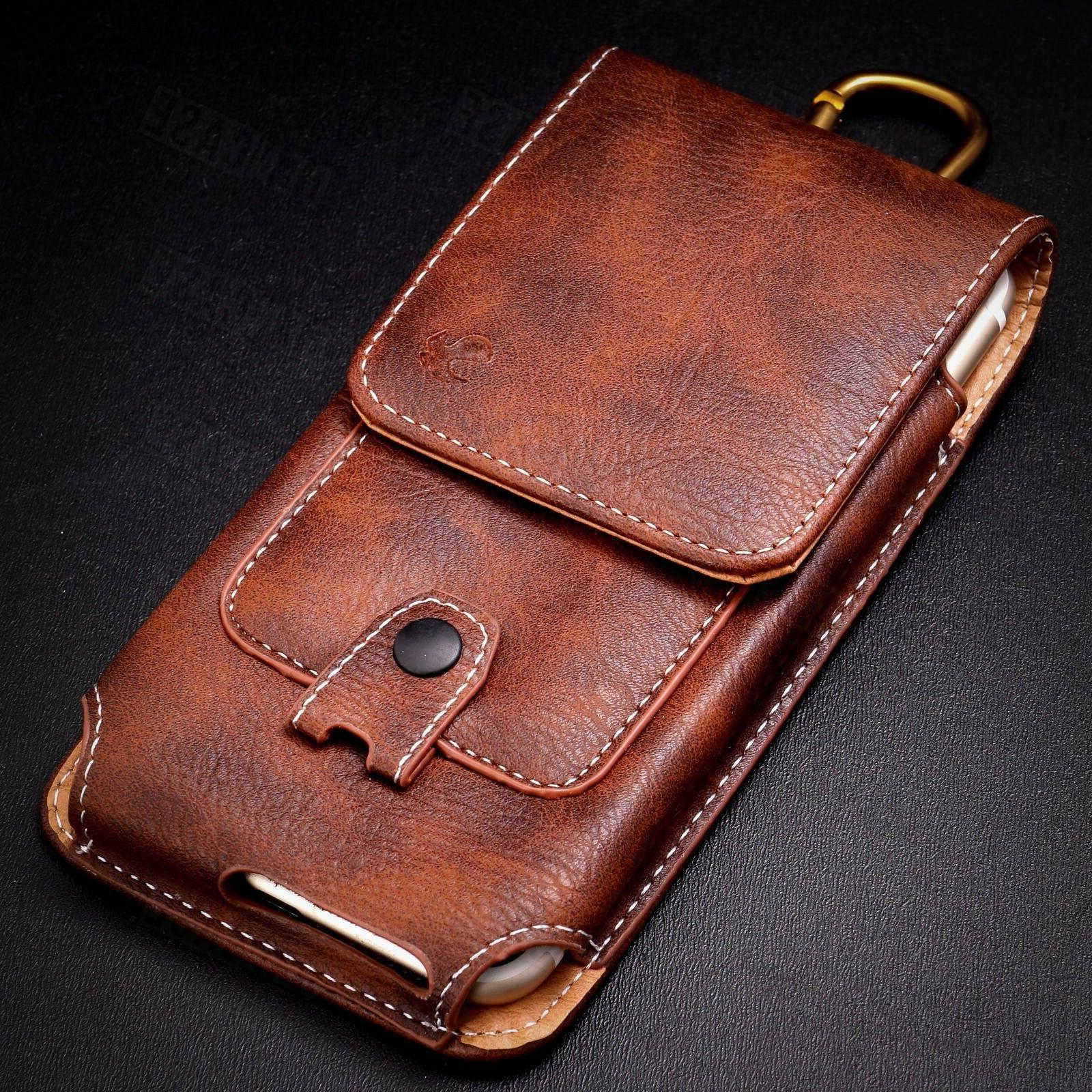 vertical pu leather case cover pouch holster