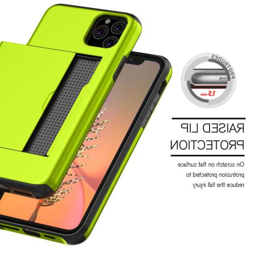Wallet iPhone 11 Max XR XS X Credit Card Slot