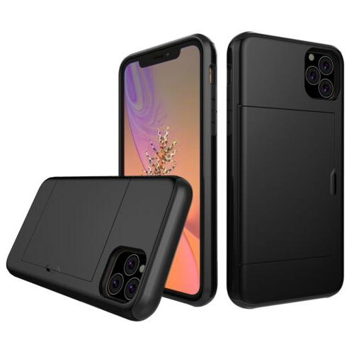 Wallet iPhone 11 Pro Max XR Card Slot Holder Cover
