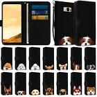wallet pouch case cover with dog design