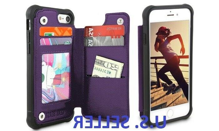 wallet snap case card holder for iphone