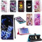Women Flip Leather Card Wallet Case Cover For iphone Huawei
