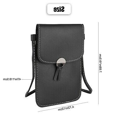 Women Cell Phone Case Purse Messenger Shoulder Crossbody