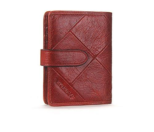 women s leather wallet vintage cowhide leather