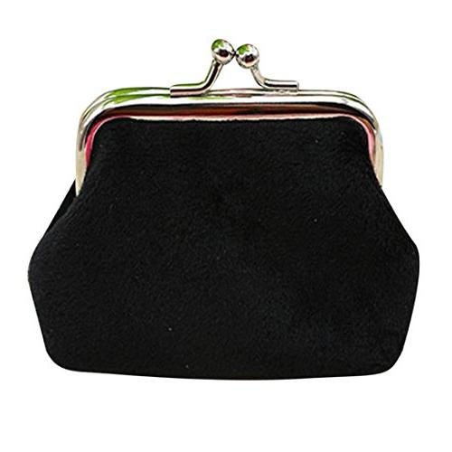 womens corduroy small wallet coin purse clutch