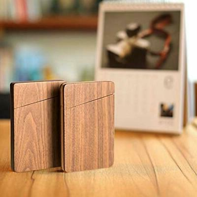 MaxGear Holder Wooden Wallet Day