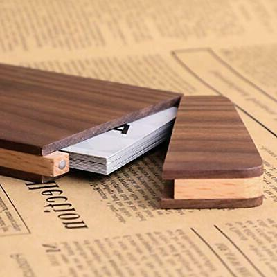 MaxGear Holder Wooden Wallet Pocket Day