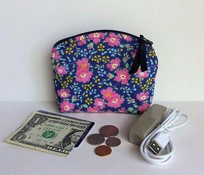 zipper coin purse wallet mini makeup change