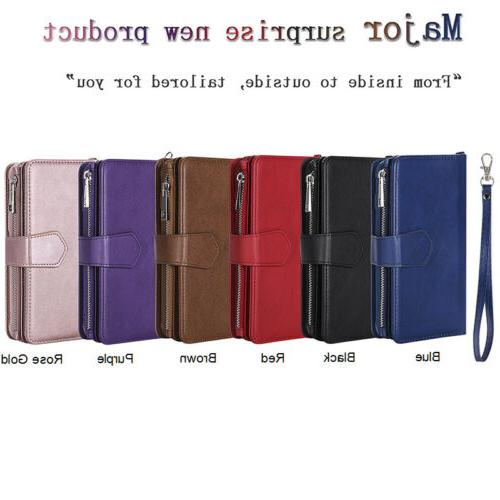 Zipper Leather For Samsung S10 S9 Plus 98