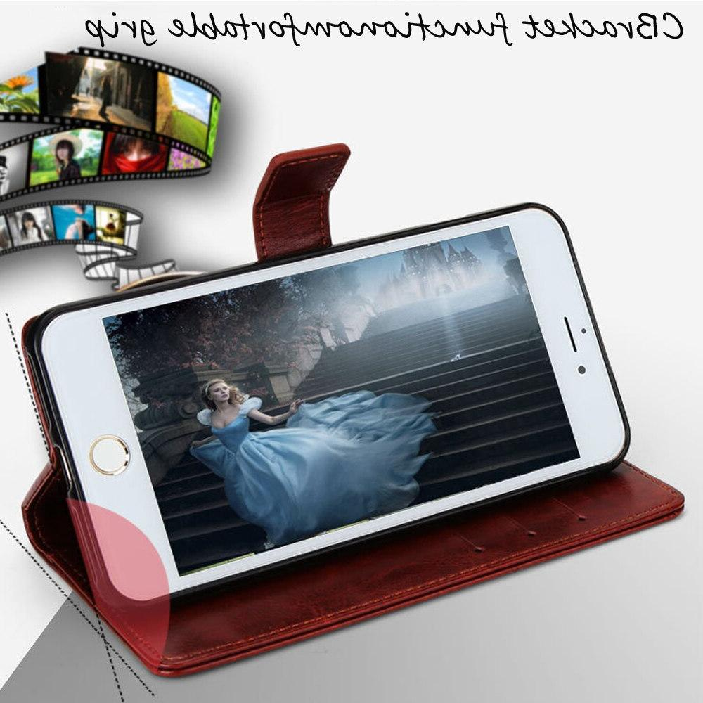 ZTE A3 Protection Stand Leather Silicone Cover For