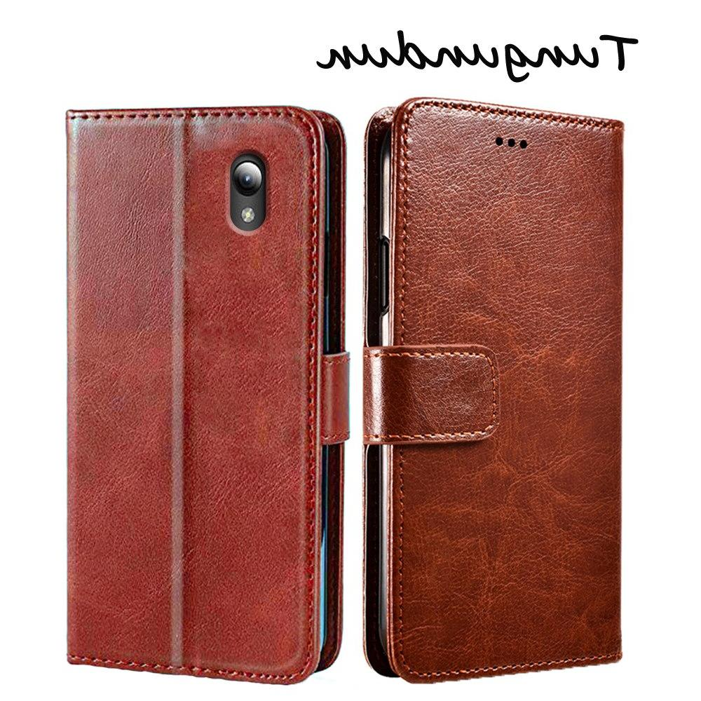 ZTE Blade A7 2019 Protection Stand Leather Flip Cover ZTE Blade L8
