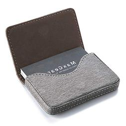 MaxGear Leather Business Card Holder Business Card Case Busi