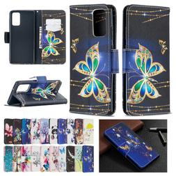 Leather Magnetic Flip Wallet Stand Case Cover For Samsung Ga