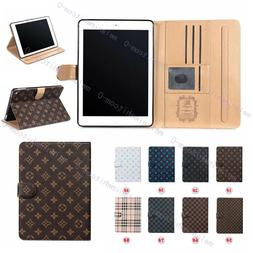 Leather Stand iPad Wallet Case Cover For iPad Pro 12.9'' MIN