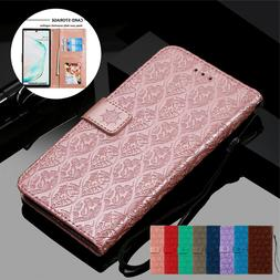 Leather Wallet Case For Samsung Galaxy Note 20 10 9 8 S20 S1