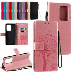 Leather Wallet Case For Samsung S20 Plus Ultra Note 9 8 S8S9