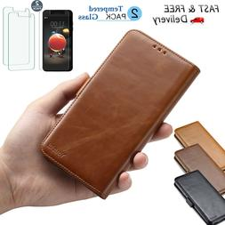 For LG Aristo 2/Tribute Dynasty/Fortune 2/LV3 2018 Leather W
