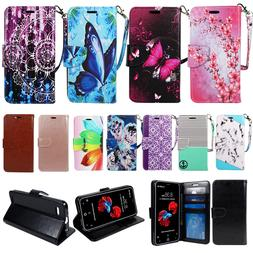 For LG Fortune 2/ Risio 3/ Phoenix 4/ Wallet Case Cover Card