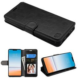 For LG Fiesta X Power 2 X Charge Leather Flip Wallet Case Pr