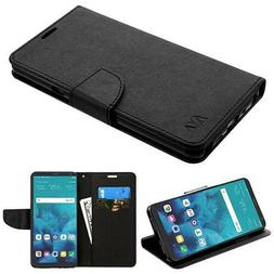 For LG Stylo 4 / Plus Phone Leather Wallet Case Cover Protec