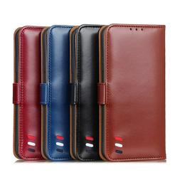 For LG K20 K30 K50s G8 X ThinQ Flip Leather Wallet Purse Car