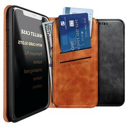 For LG K40/Solo LTE Case Leather Wallet Magnetic Flip Card I