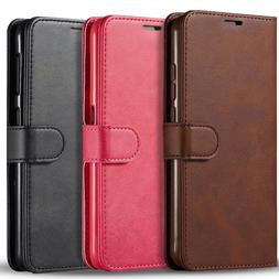 For LG Stylo 6 Case, Wallet Pouch Kickstand Cover + Tempered
