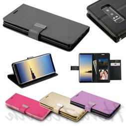 For LG Stylo 4 Cards Holder Fold Leather Wallet Flip Dual Ph
